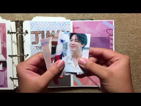 BTS Themed Scrapbook