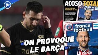 L'Espagne dénonce le harcèlement du PSG pour Lionel Messi | Revue de presse
