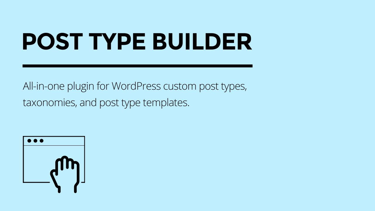 Post Type Builder • Themify