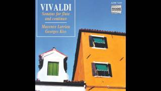 """Maxence Larrieu, Georges Kiss - Sonate in E Minor (""""Stockholm""""), RV. 50: Andante"""