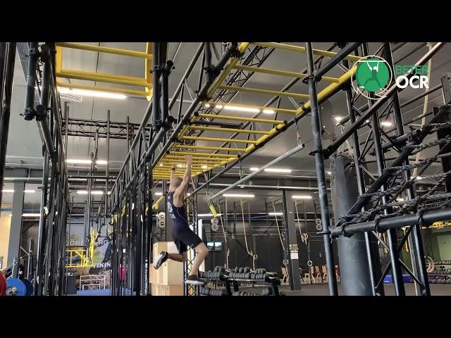 Moving Monkeybar Ladder Techniek long Swing Met Zweefmoment