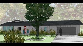 Modern House And Floor Plan Design 3 Bedrooms 3 5 Bath 3000 Sq Ft