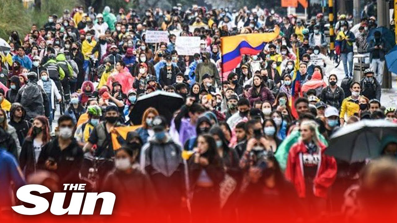 Colombia unions to hold mass marches, violence worse overnight in ...