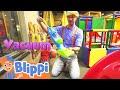 Blippi Visits The Kinderland Indoor Playground! Educationals for Toddlers