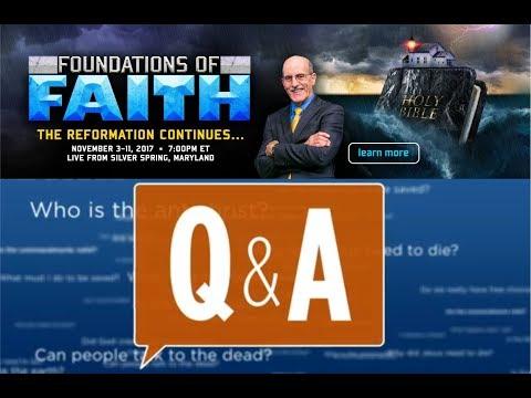 Doug Batchelor - Q&A #6 (Foundations of Faith)