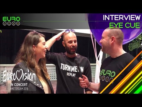 Eye Cue interview (Macedonia Eurovision 2018) | Eurovision in Concert | Eurovoxx