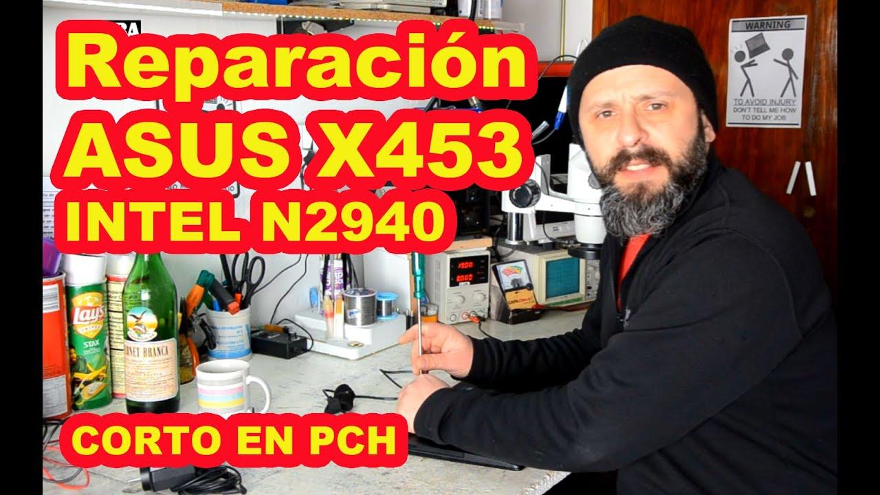 Como saber si esta bien un Microprocesador / PCH - Asus X453MA