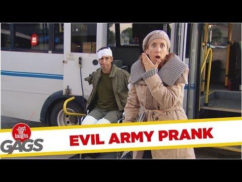 Evil Army Prank