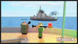 Gemi Sava-larâna Katilyoruz - Roblox La bataille des cuirassés