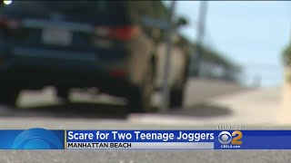 2 Teenage Girls Jogging See Man Exposing Himself In Car
