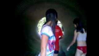 Repeat youtube video mandi sungai sebatu