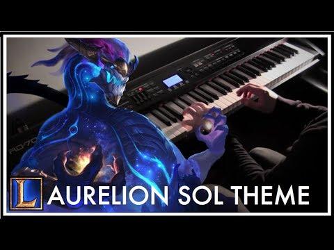 AURELION SOL Login Theme - League of Legends Piano Style Cover