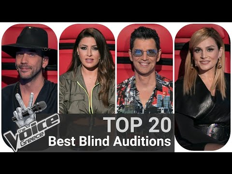 TOP 20 | Best Blind Auditions - The Voice of Greece @Made By