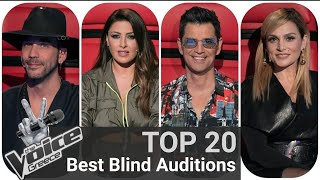 TOP 20 | Best Blind Auditions - The Voice of Greece