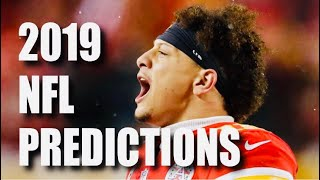 2019 NFL RECORD PREDICTIONS FOR ALL 32 TEAMS