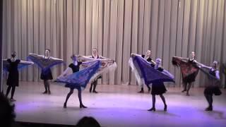 Урок народного танца, 8 класс