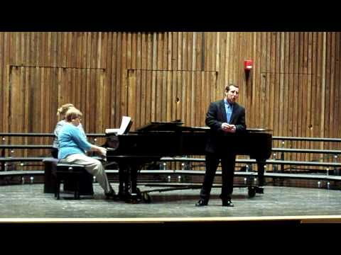 University of Akrons Joshua Lehman singing Nina