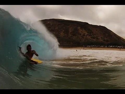 Sandy Beach Oahu - Tropical Storm Flossie 2013 Swell