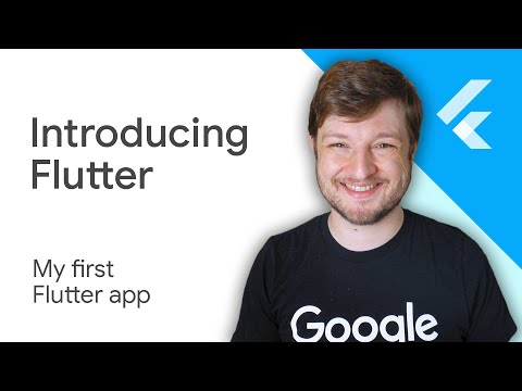 How do I make my first Flutter app