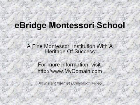 eBridge Montessori School