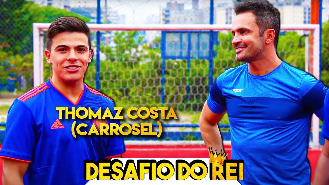 Desafio de Pênaltis com Thomaz Costa (Carrosel)!