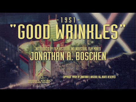 """GOOD WRINKLES"" (1951) -Jon Boschen's Classic Industrial Film Showcase"