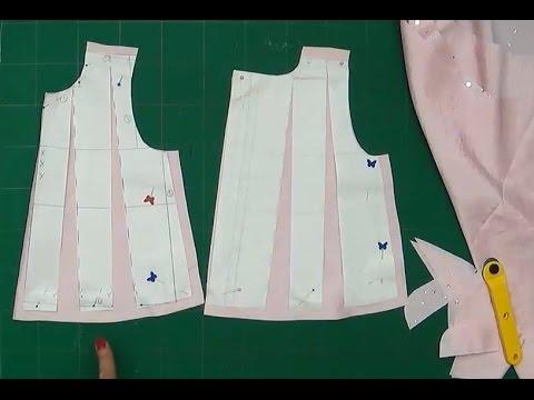 Alta Costura Para Niños Clase 49 Cortar El Vestido Para Bebe