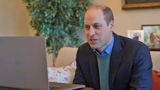 Prince William congratulates Oxford University on Covid-19 vaccine breakthrough