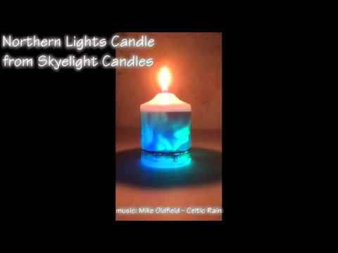 Northern Lights Candle Pictures Gallery