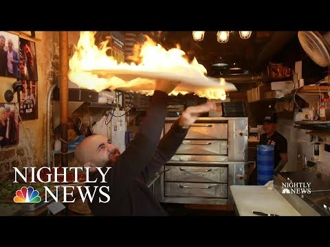 Pizza-Spinning Chef Helps Others Get A Slice Of The American Dream| NBC Nightly News