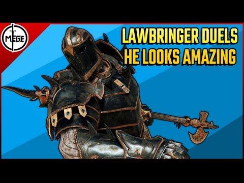 LAWBRINGER DUELS - He looks SO COOL! [For Honor]