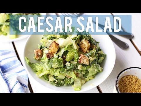 Vegan Caesar Salad | EASY + HEALTHY LUNCH