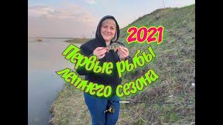 Рыбалка с ЖЕНОЙ на реке Томь Ловля окуня на отводной поводок