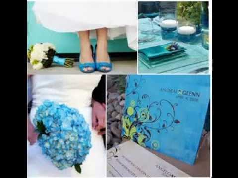 cute turquoise wedding decorating ideas
