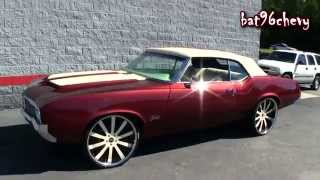 "ULTIMATE AUDIO: 1971 Oldsmobile Cutlass Vert on 24"" Forgiatos, LS3 Motor & Custom Dash - HD"