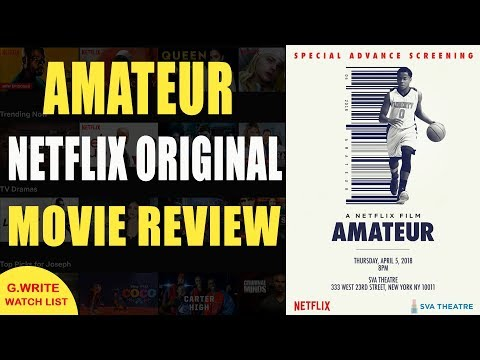 Amateur  Movie   What to watch on Netflix