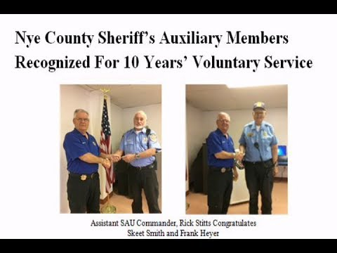07/10/2017 Nye County Sheriffs Office Auxiliary