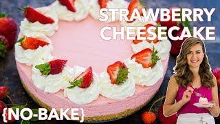 Easy No-Bake Strawberry Cheesecake Dessert