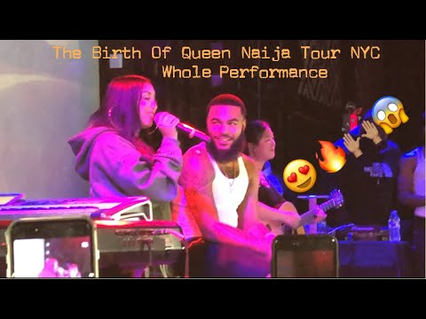 THE BIRTH OF QUEEN NAIJA TOUR | NYC SHOW WHOLE PERFORMANCE |VLOG