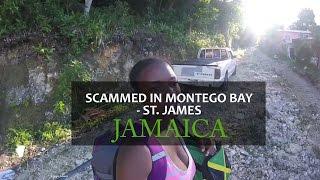 scammed in montego bay jamaica pt 1   14 parishes in 14 days