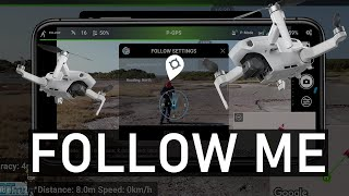 Follow Me For The Mavic Mini - Best Tracking (Android Litchi Beta) | DansTube.TV
