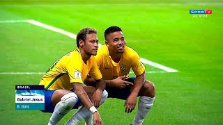 Neymar vs Chile (Home) HD 1080i (10/10/2017)