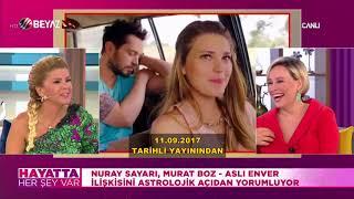 Nuray Sayarı, Murat Boz-Aslı Enver aşkının biteceğini önceden bilmişti!