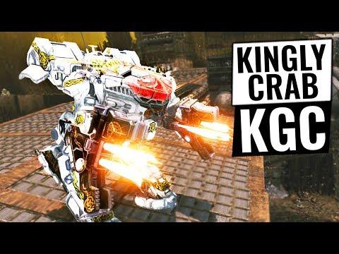 MASSIVE DAMAGE GIANT TTB CRAB - King Crab Dakka Build - Mechwarrior Online 2018 MWO