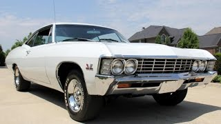 1967 Chevrolet Impala Fastback For Sale