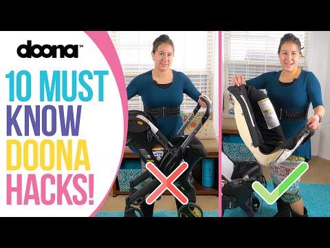 Doona Car Seat / Stroller - 10 Must Know Hacks