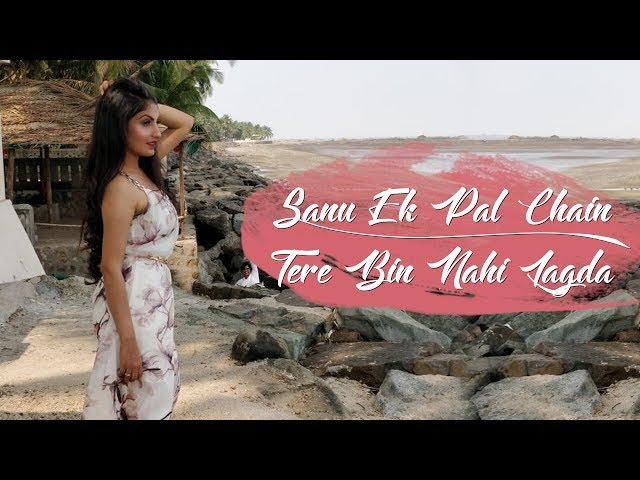 Sanu Ek Pal/Tere Bin Nai Lagda - Rupali Jagga | Rahat Fateh Ali Khan | Nusrat Fateh Ali Khan | Cover