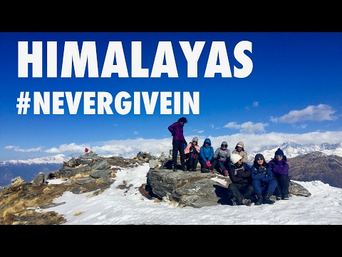HIMALAYAS / Never Give In