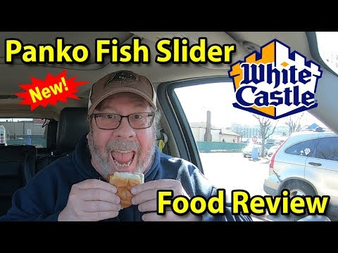 Whitecastle® | Panko Fish Slider & Shrimp Nibblers 🍔🍤 | Taste Test & Review | JKMCraveTV
