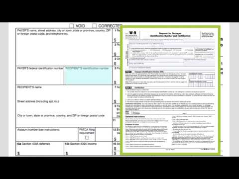How To Fill Out Form 1099 Misc Youtube